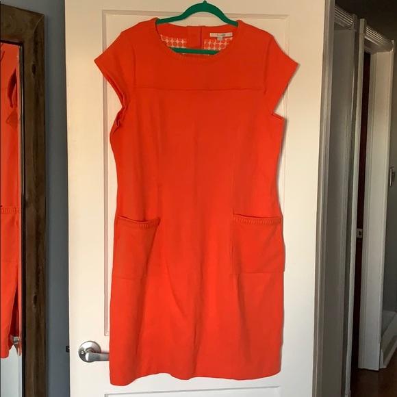 Boden Dresses Orange Dress Poshmark